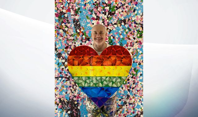 Coronavirus Damien Hirst On Art Rainbows And Coping With Lockdown Bay Trust Radio